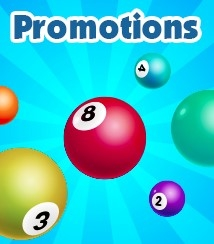 Daily, weekly and monthly promotions are available at Beatle Bingo
