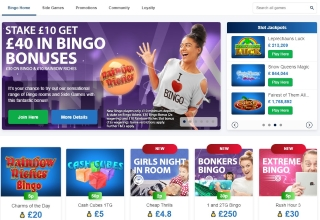Review of Betfred bingo games and bonuses
