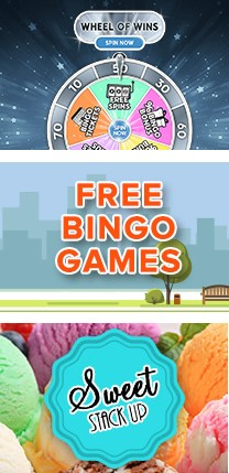 There are several ongoing promotions offered at Bingo Stree