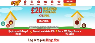 Review of BOGOF Bingo's games, bonuses and services