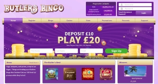 Expert Review of Butlers Bingo's features