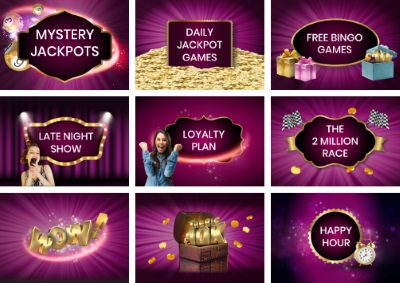 Celeb Bingo has something for everyone, sign up and win great rewards.