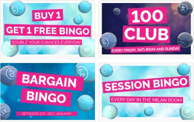 There are plenty of bonus offers you can pick from at Fabulous Bingo.