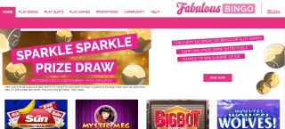 Review of Fabulous Bingo's games, bonuses and services