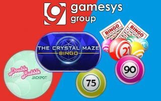 Gamesys' games on offer