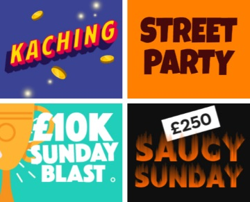 There are plenty of opportunities to win free spins, daily free bingo, and tonnes of tickets.