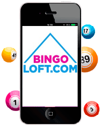 Loft Bingo's site is mobile optimized to provide you with great gameplay no matter the device