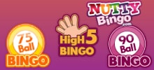 Nutty's bingo games