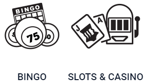 There are also side games and video slots to choose from with Parlay bingo sites
