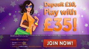Discover Posh Bingo's games, bonuses and services