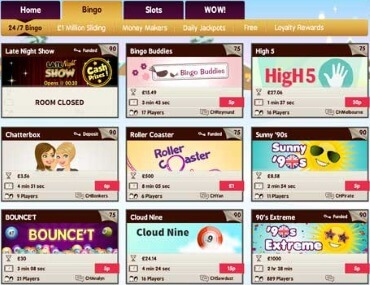 Snowy Bingo offers a huge selection of scratch cards and slots with big jackpots.