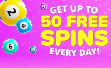 You could get up to 50 free spins from the YAY Bingo promotions