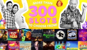 Yay Bingo offers 90 ball, 75 ball, 52ball games and more than 300 slots